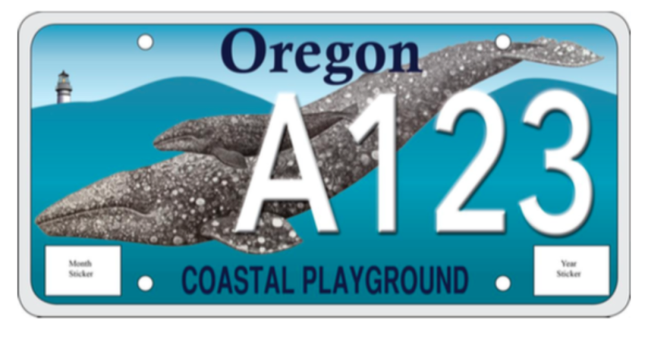 Coastal license plates head to production for Oregon fishing license cost 2017
